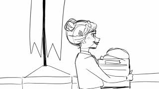 Frozen 2 outtake - Home Storyboard (fanmade)