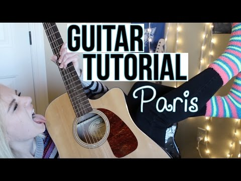 Paris - The Chainsmokers | EASY GUITAR TUTORIAL