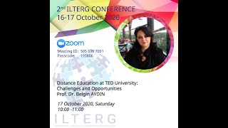 Distance Education at TED University Challenges and Opportunities   Prof  Dr  Belgin AYDIN