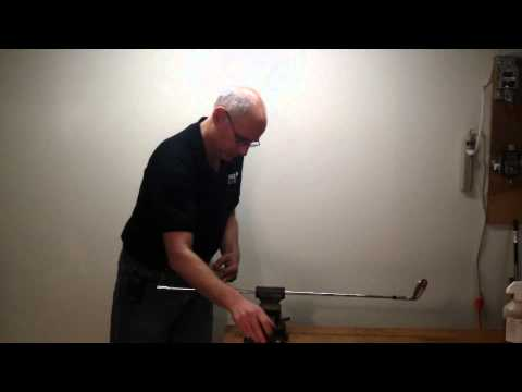 How To Assemble A Custom Golf Club Part 9 - How To Install A Golf Grip