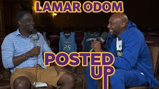 Lamar Odom Talks His Post-NBA Career and Future with the Big 3 on Posted Up with Chris Haynes