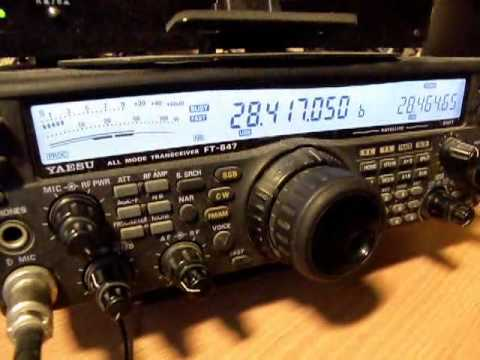 Radio Contact with Japan - JN1GTG Nobu from Yokohama on 28 MHz