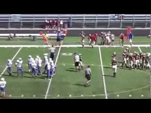 Goddard 6th Grade vs. Newton 2 2013 Junior Football Part 3