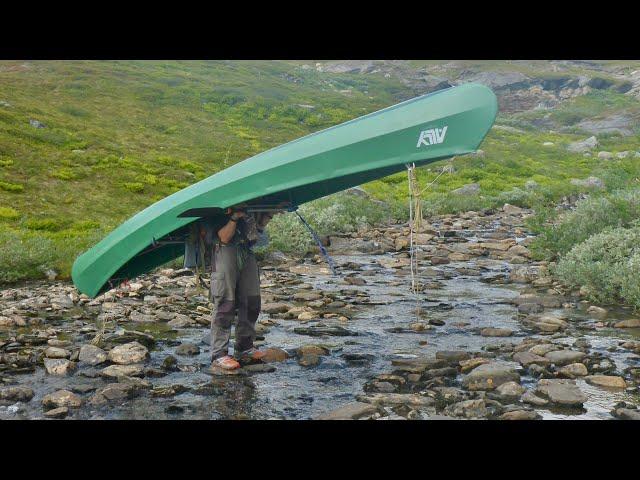 Kanufahren: Durch die Wildnis Lapplands  Teil 1: From Norway to Sweden  outdoor-life
