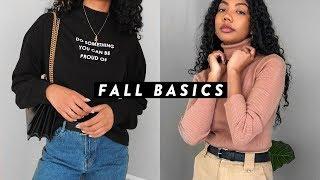 HOW TO BUILD A FALL WARDROBE WITH BASICS | Asia Jackson