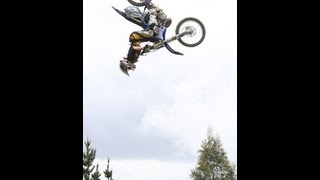 GoPro - KOARSE RANCH TRACK RIDE - SUPER X FMX MOTO CROSS 100ft JUMP