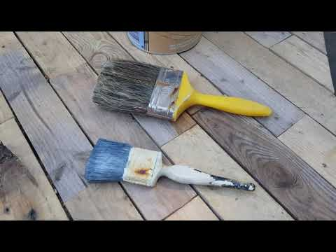 Creative DIY garden: How to create beautiful patio decking using free pallet wood: Part 2