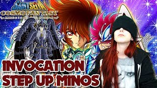 SAINT SEIYA COSMO FANTASY - STEP UP MINOS !