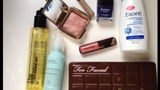 February 2014 Beauty Favorites ♡ Hourglass, Too Faced, Benefit, More!! Thumbnail