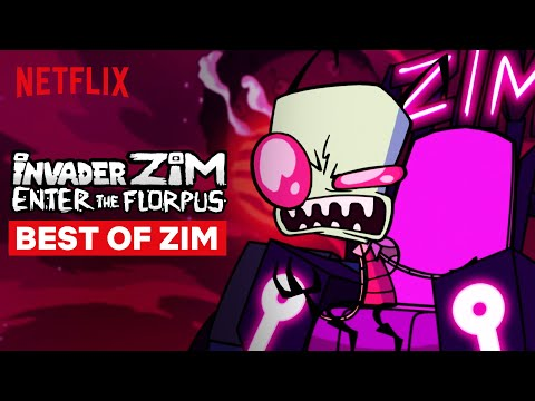 Best of Zim | Invader Zim: Enter the Florpus | Netflix