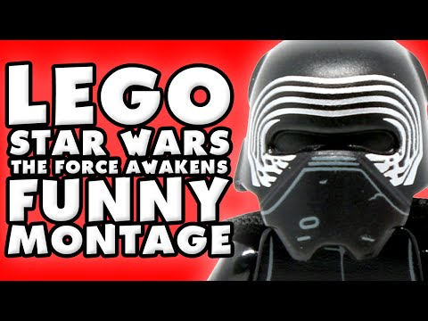 LEGO Star Wars The Force Awakens Funny Montage!