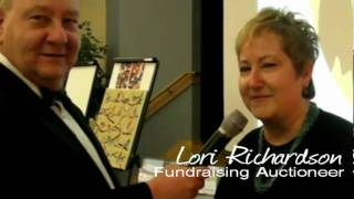 School Fundraising Auction with Auctioneer Lori Richardson