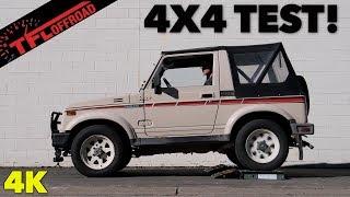 Does The Suzuki Samurai Pass or Fail the TFL Slip Test?