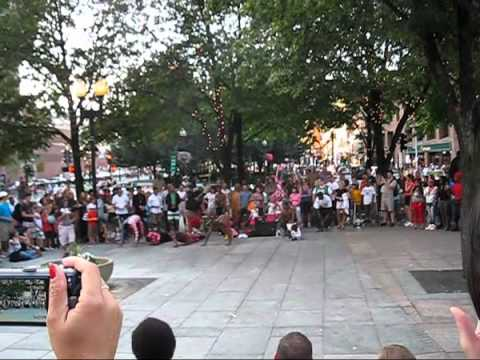 Y.A.K. Dance Crew at Faneuil Hall, Boston 2010-08-07
