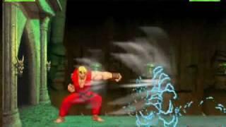 Repeat youtube video Ken vs Shang Tsung