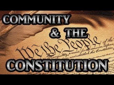 Community vesves the Constitution 28, 2017