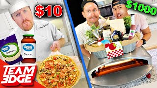 Chef w $10 vs Noobz with $1000 Pizza Challenge!!