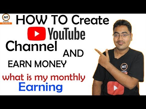 How to create a Youtube Channel And Earn Money 2018| Tutorial  | Tamil - Master Technical