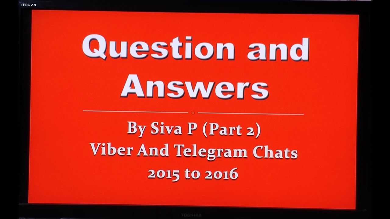 Q & A From Viber Chats With PVH Members Part 2 [2015/16]