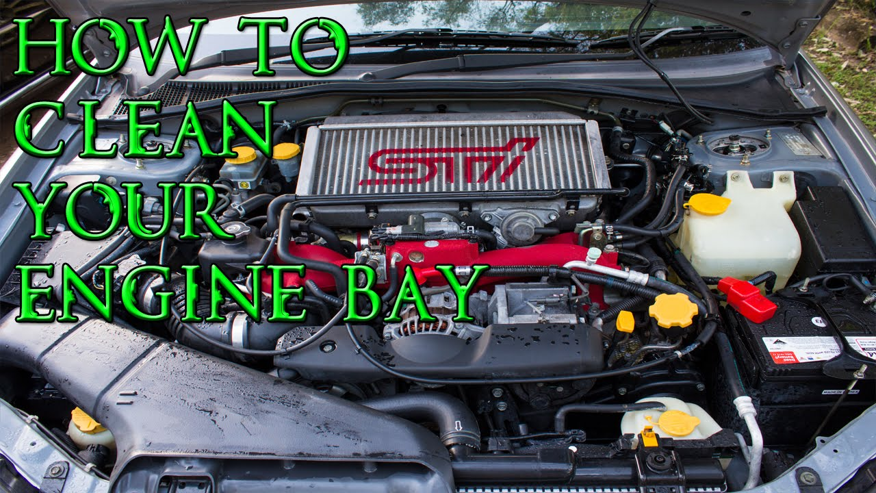 How To Clean Engine Bay >> How To Clean Your Engine Bay