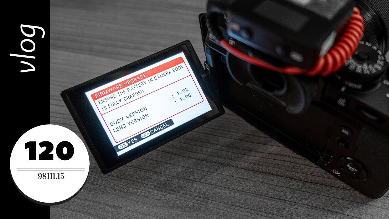 Firmware Update for Fuji X-4, 16-80mm F4, VLog Test