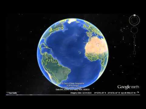 Barbados Google Earth View