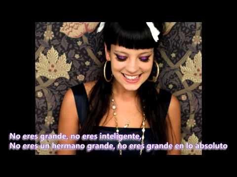 Lily Allen - Not Big [Traducción]