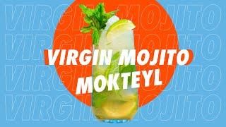 Virgin Mojito Mokteyl Tarifi Nasıl Yapılır ? // Alkolsüz Kokteyl Tarifleri