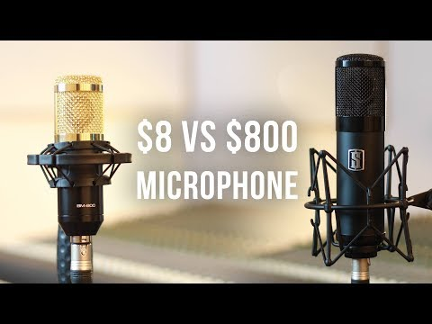 $8 BM-800 Condenser Microphone (Review)