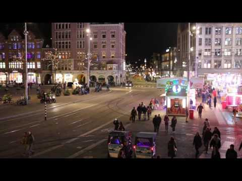 Dam Square - Saturday Night