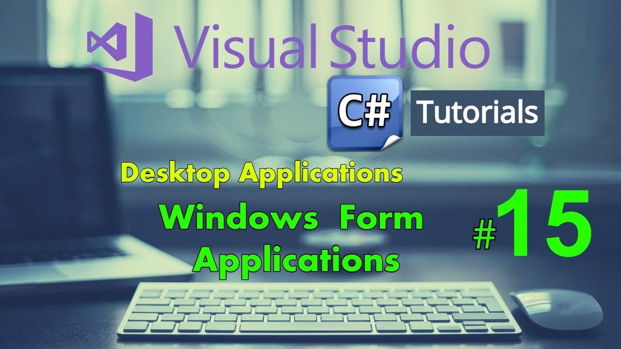 Combobox in C# - Datatables in C# - Windows Form Application C# Tutorial 15