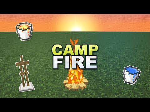 Minecraft - Campfire // Lagerfeuer - Tutorial 1.13 thumbnail