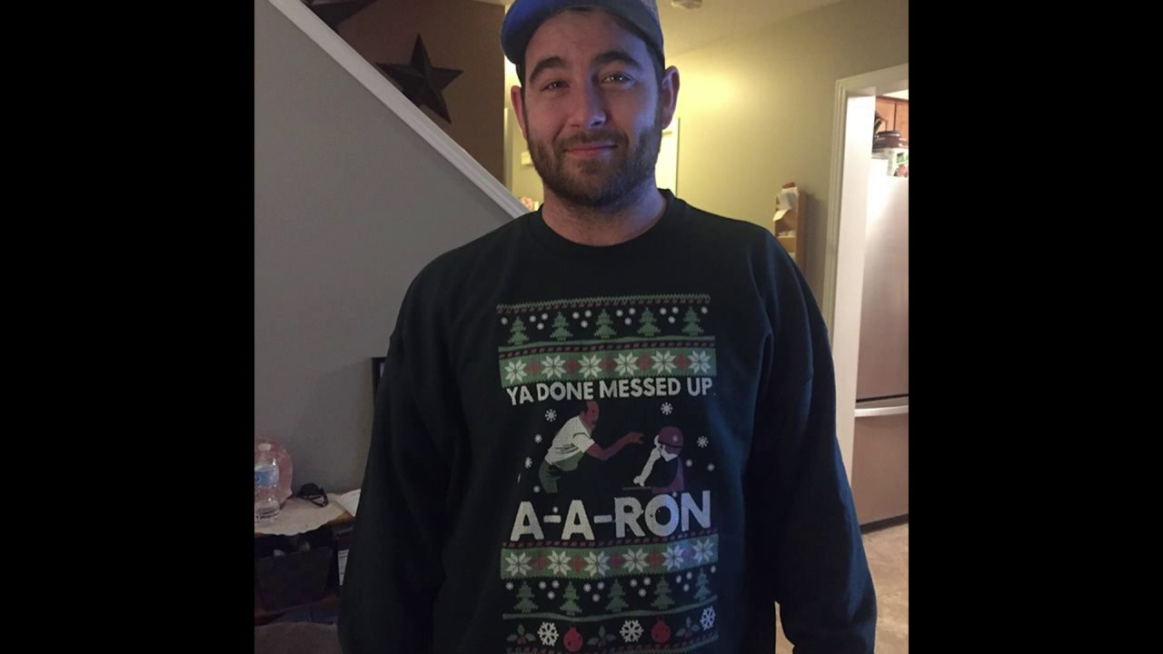 ya done messed up a a ron ugly sweater