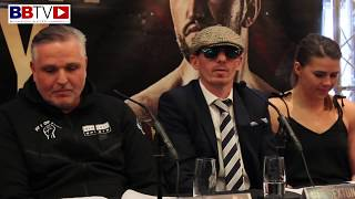 SAM SEXTON V HUGHIE FURY FULL PRESS CONFERENCE FROM BOLTON