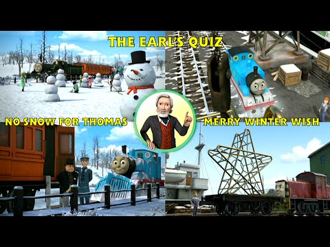 The Earl's Quiz - No Snow for Thomas and Merry Winter Wish - HD