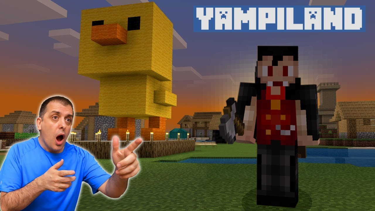Download YAMPILAND, peligro en el pueblo del desierto en Minecraft en vivo