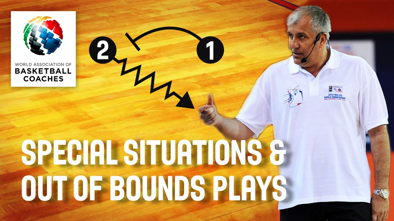 Zeljko Obradovic - Special Situations and Out of Bounds Plays