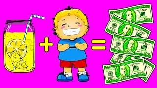 12 Ideias Para as Crianças Ganharem Seu Próprio Dinheiro