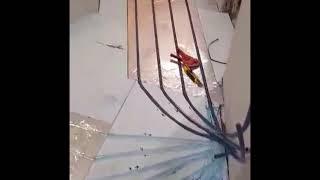 ▶️ Проект та монтаж сухих теплих підлог площею 45 кв.м.