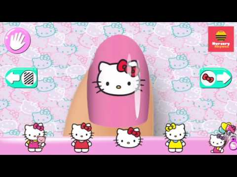 Hello Kitty Nail Salon Best Games For Children In Iphone Ipad Android