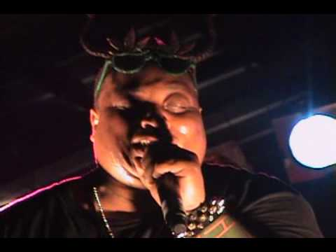 King Gordy performing at the 10th Annual Gathering of the Juggalos 2009