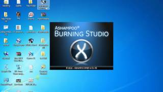 Writing Video CD/DVD using Ashampoo Burning Studio 10