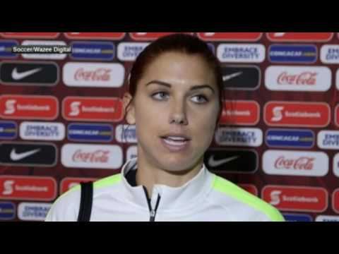 USWNT - Road to Rio: Alex Morgan Post-Game Reaction to Mexico Olympic Qualifier - February 15, 2016