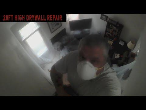 Cathedral Ceiling Drywall Repair