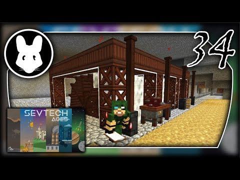 SevTech Ages - Wheel Excavation! Part 34 - Mischief of Mice