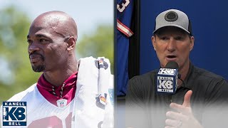 Adrian Peterson is in SERIOUS debt | Kanell & Bell