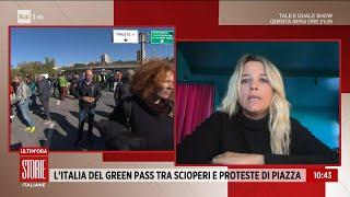 La sfida dello sciopero conto il green-pass - Storie Italiane - 15/10/2021