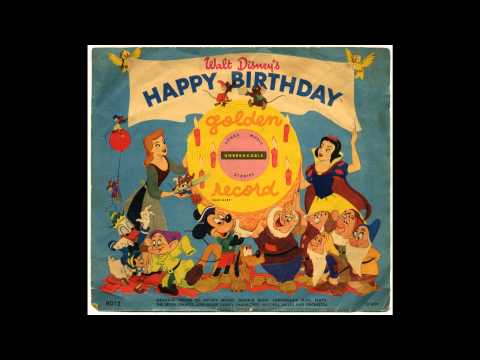 Walt Disney's Happy Birthday (Golden Records)