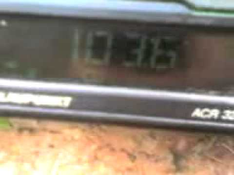 11 10 08 1746 radio k sinaia test at 28km noth danube   YouTube