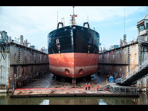 Drydock: Repairing the Massive Ships that Dredge the Columbia River